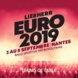 LIEBHERR EURO 2019 - PASS SEMAINE - PLACEMENT LIBRE